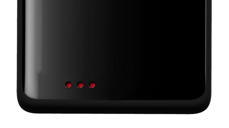 Colored speaker grid